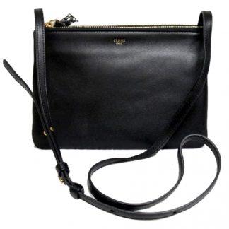 1f4675aa842f Flawless Céline AAA Replica Luggage Trio Small Black Messenger Leather  Cross Body Bag celine bag price