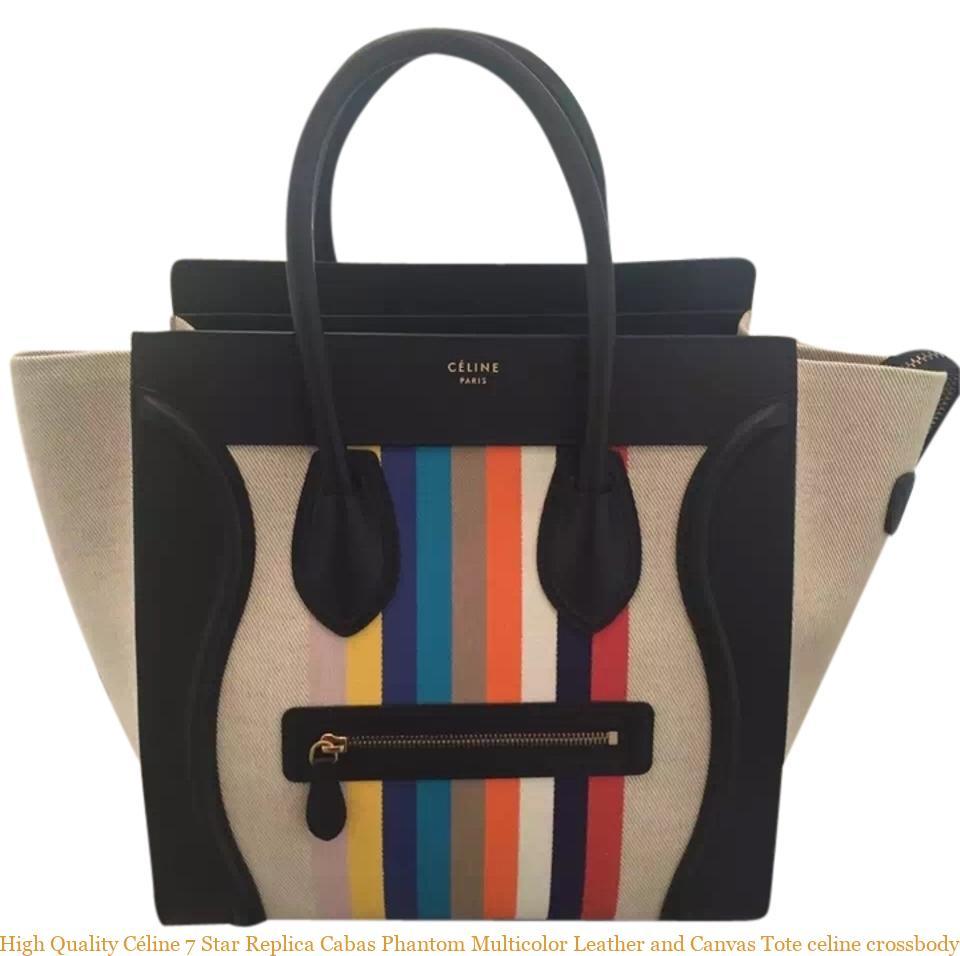 4c53b2d74c22 High Quality Céline 7 Star Replica Cabas Phantom Multicolor Leather and  Canvas Tote celine crossbody – AAA Replica Bags – Buy Top Quality Replica  Designer ...