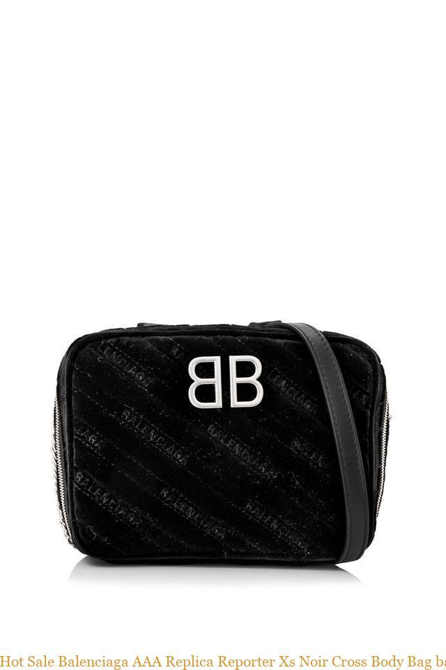 087294f0747 Hot Sale Balenciaga AAA Replica Reporter Xs Noir Cross Body Bag balenciaga  replica bag sale