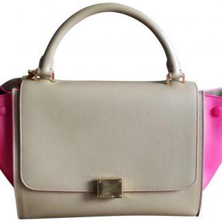 Perfect Quality Céline 7 Star Replica Trapeze Multicolor Leather Shoulder  Bag celine replica bag price 32568a8c628de