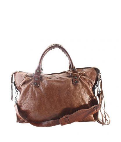 4110d9cfe9d6 US Balenciaga Knockoff 240579 (159468) Brown Leather Satchel balenciaga bag  pink